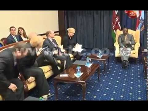 President Kenyatta in talks with US delegation