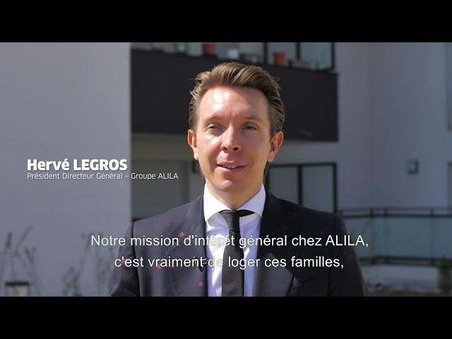ALILA – Inauguration de D'CLIC à Pont-de-Claix (38) – Hervé LEGROS – PDG du Groupe ALILA 1/2