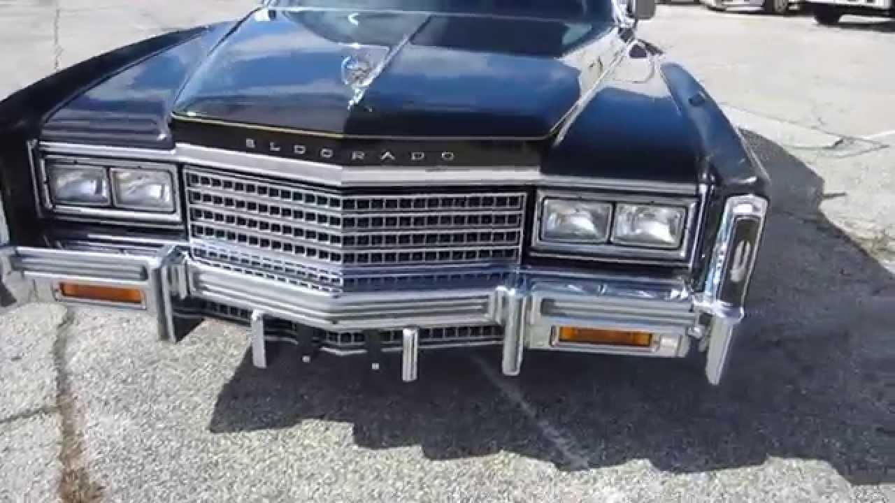 New Cadillac Eldorado >> ** INCREDIBLE !! ** 1978 CADILLAC ELDORADO COUPE ** ONLY 45K MILES !! ** SOLD !! - YouTube