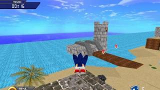 Sonic The Hedgehog 3D (PC): Part 1 (Green Island)