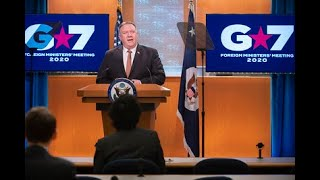 Secretary Pompeo Delivers Remarks On The G7 Foreign Ministers' Meeting To The Media | March 25, 2020