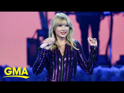 Taylor Swift Accuses Her Back Catalog Owners Of Shutting Down AMAs Medley L GMA