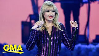 Taylor Swift accuses her back catalog owners of shutting down AMAs medley l GMA.mp3