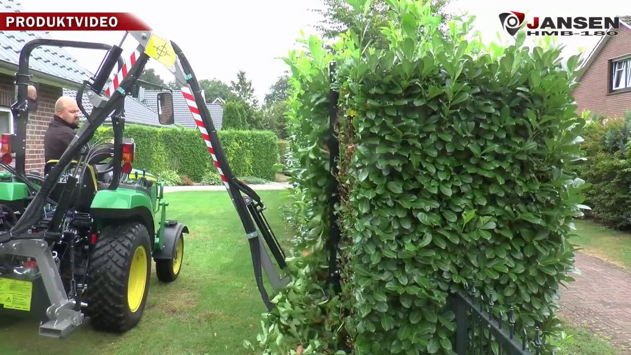 Planter Dans Un Talus barre de coupe hydraulique hmb-180 faucheuse de talus, cisaille à haies  référence j1755005