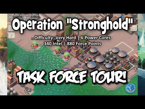 """Boom Beach - Task Force Tour! Operation """"Stronghold"""" 