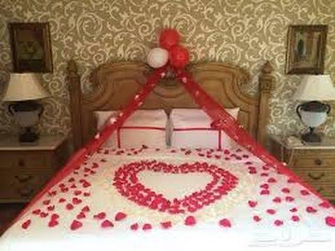 افكار رومانسية لتزيين غرفة نوم العروسين لليلة الدخلة       YouTube