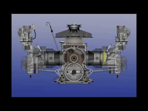 Corvair Engine Animation 9-2-2019