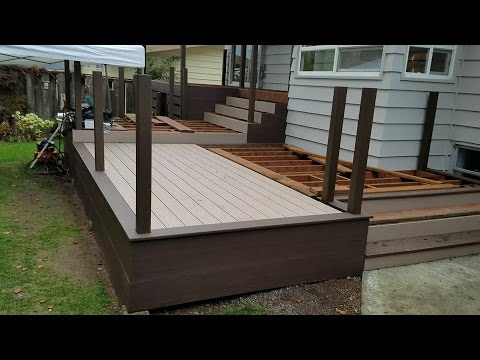 Decking And Side Skirting Part 4 Of 6 Youtube