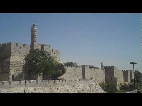 Jerusalem Citadel Tower of David Mount of Olives