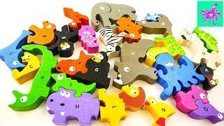 The Animal Alphabet | ABC Song for Kids | ABC Wild Animals Names