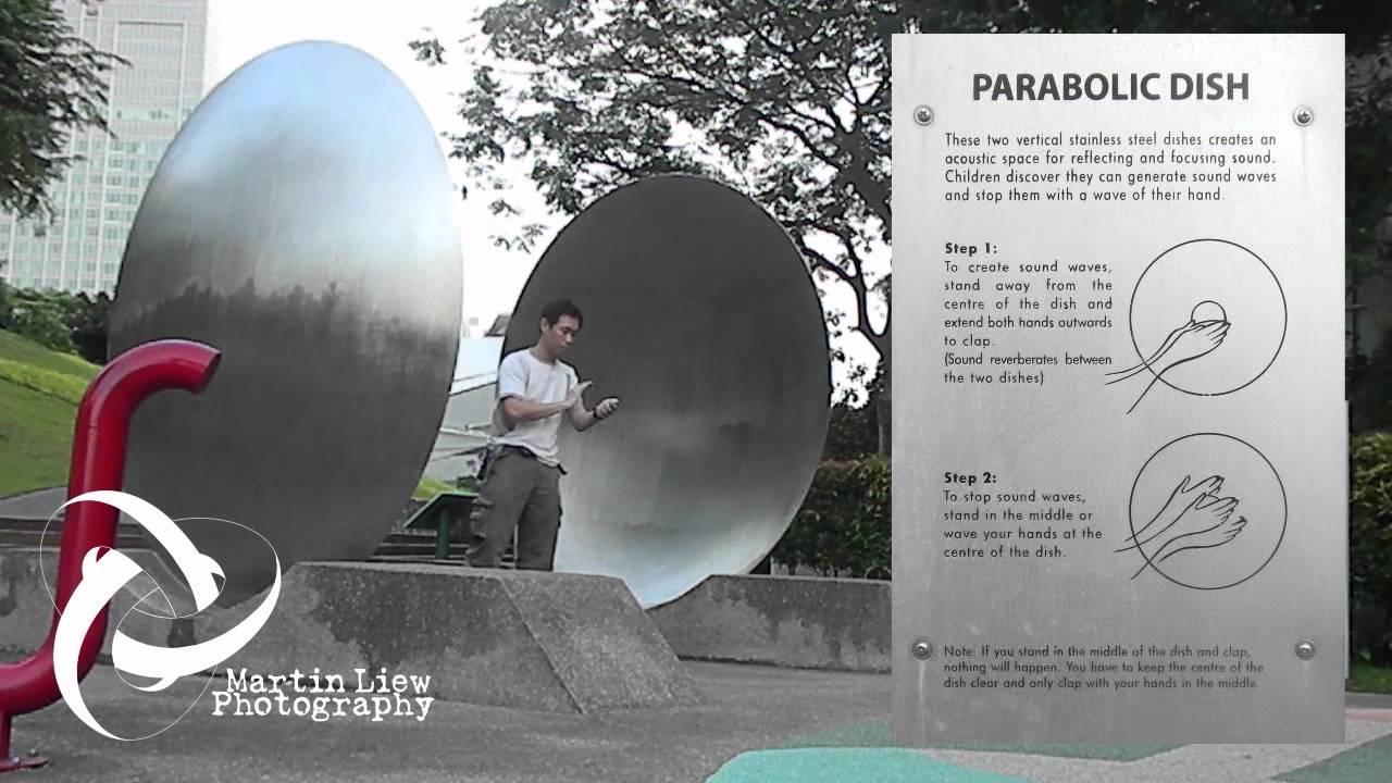 Parabolic Dish Playground Youtube