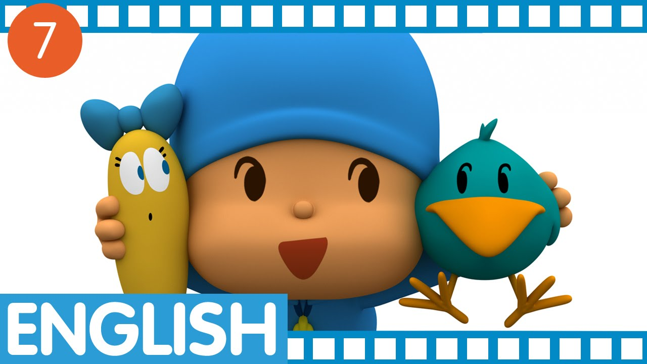 pocoyo in english session 7 ep 25 28 youtube. Black Bedroom Furniture Sets. Home Design Ideas