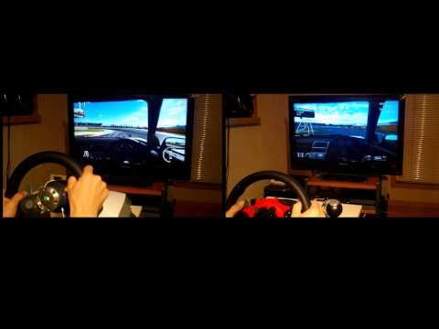 比較検証ハンコン対決ドライビングフォースGT対ワイヤレスレーシングホイール
