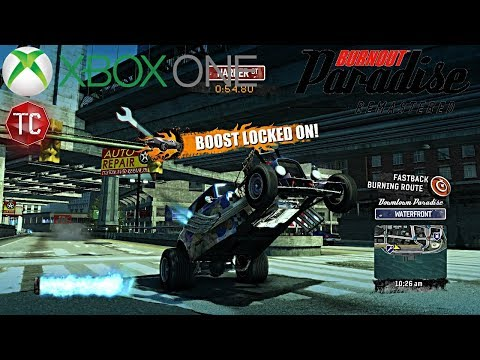 Burnout Paradise Remastered: WHEELIE HOT ROD!! Xbox One Gameplay