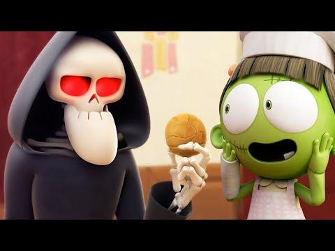 Funny Animated Cartoon   Spookiz Zizi The Cookie Monster   Cartoon For Children