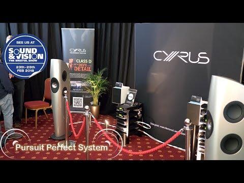 Cyrus HiFi System KEF Blades Launch Qobuz Service @ Bristol Show Sound & Vision 2018 Mp3
