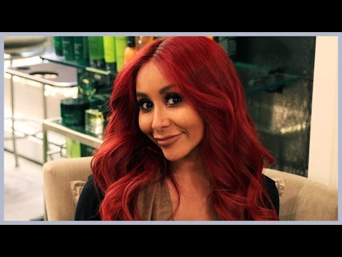 Snooki's Mommy Makeover at the Salon!