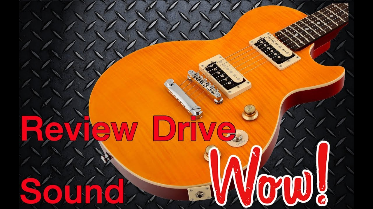 review epiphone les paul special ii slash afd signature drive sound youtube. Black Bedroom Furniture Sets. Home Design Ideas