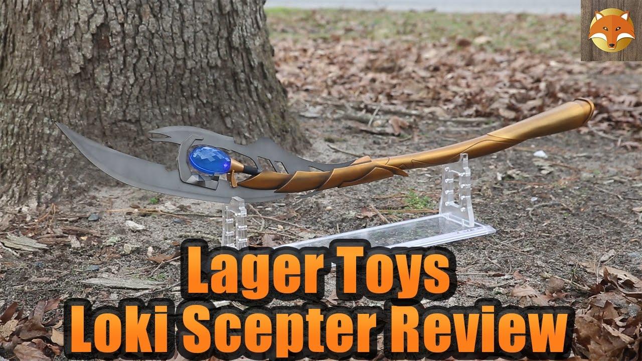 Lager Toys 11 Full Metal Loki Scepter Review Youtube