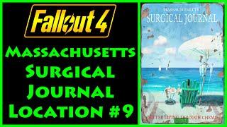 Fallout 4 - Massachusetts Surgical Journal - Cabot House - 4K Ultra HD