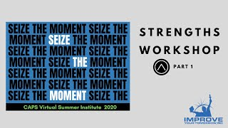 Strengths Workshop Part 1 - YDN (7.23.20)