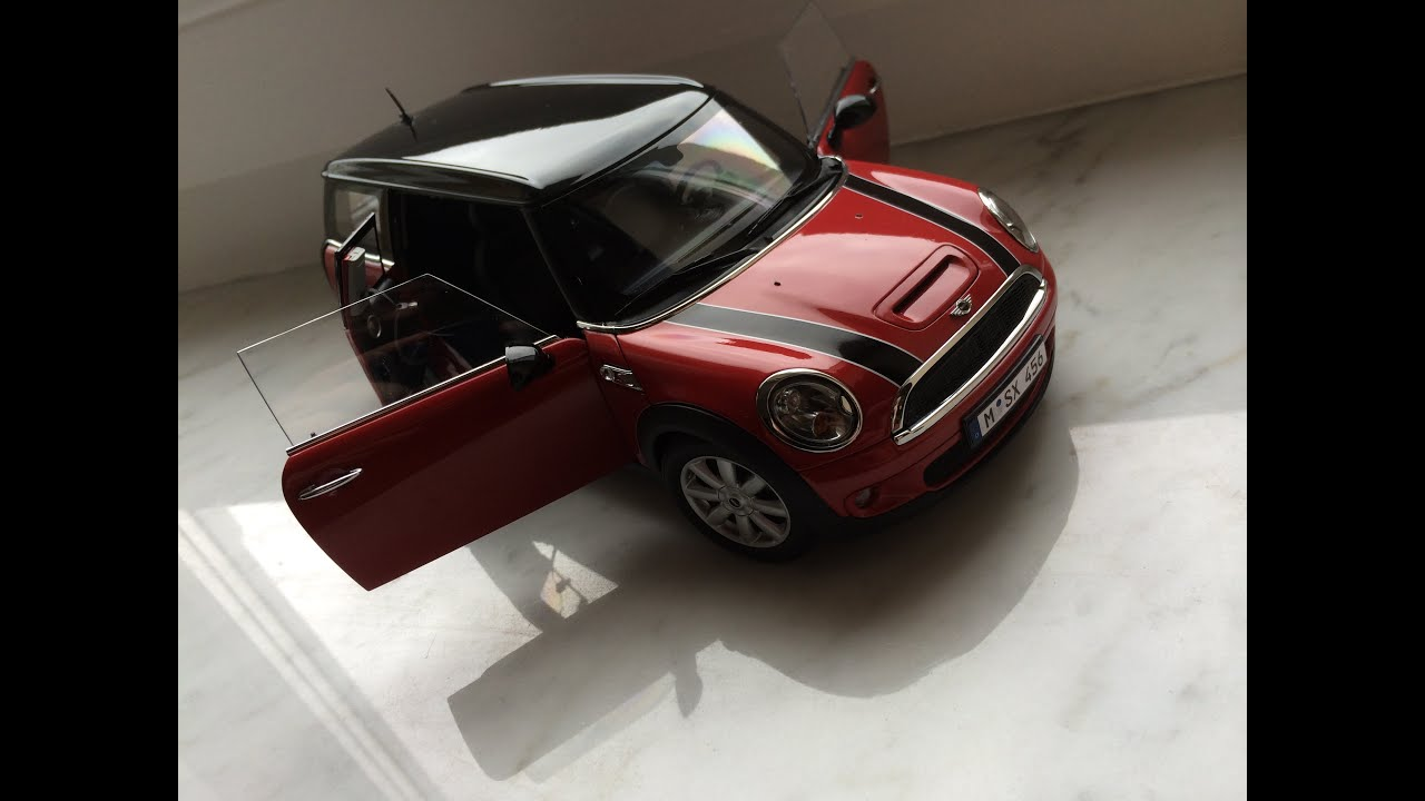 mini cooper s clubman 1 18 kyosho diecast model car youtube. Black Bedroom Furniture Sets. Home Design Ideas
