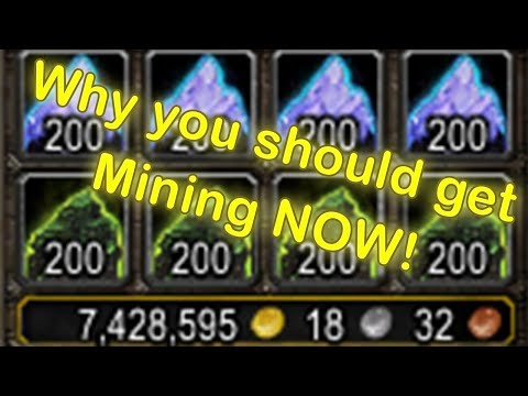 WoW Mining Profession - Why You Should Get It (WoW Mining Guide) (World Of Warcraft Gold Guide)