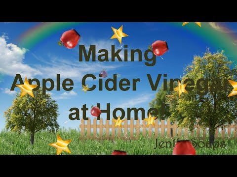 apple-cider-vinegar- -making-your-own-ingredients- -jentle-soaps™
