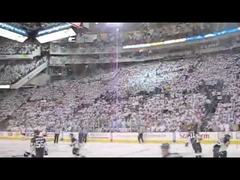 Loudest Let's Go Pens Chant in the Igloo!!! Civic Arena - Mellon