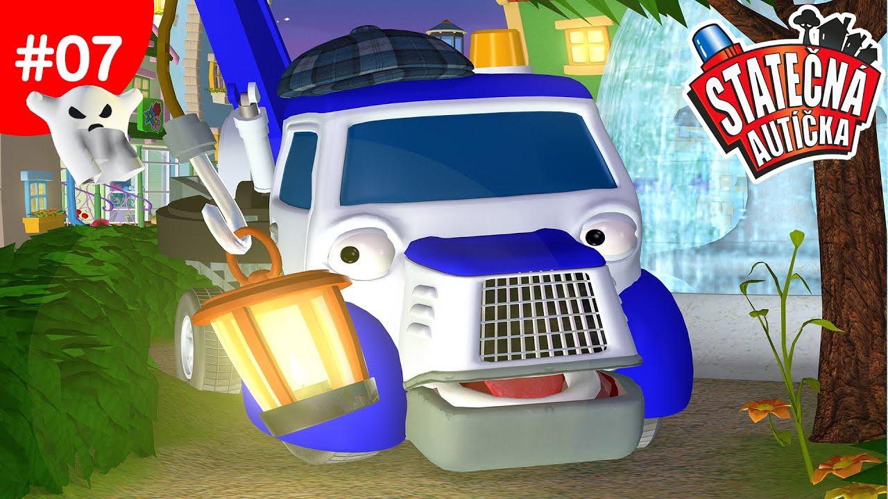 Statecna Auticka Auto Prizrak Kreslene Pro Deti Animovane