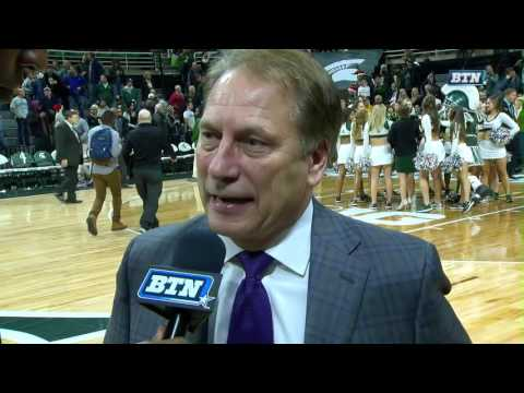 Tom Izzo Talks Win Over Oakland