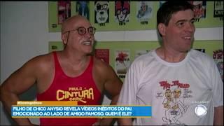 Paulo Cintura descobre surpresa que Chico Anysio criou para ele, mas não teve tempo de revelar