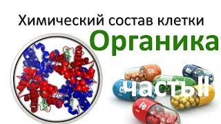3.Химия клетки - органика часть II (9 или 10-11 класс) - биология, подготовка к ЕГЭ и ОГЭ 2018