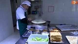 Amazing Chinese Street food JianBing || Famous food in China