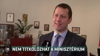 Nem titkolózhat a minisztérium 19-09-21