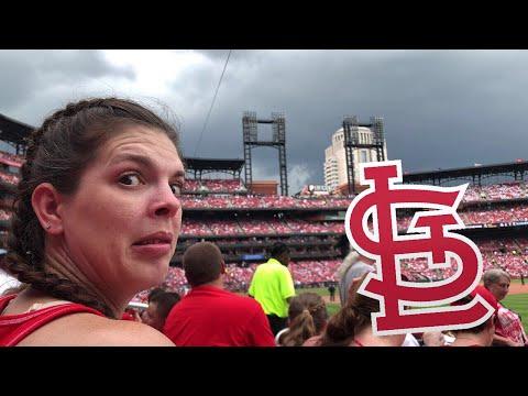 TRAPPED AT MLB BASEBALL GAME FOR TORNADO! *Not Clickbait* (Vlog #100) *WARNING*