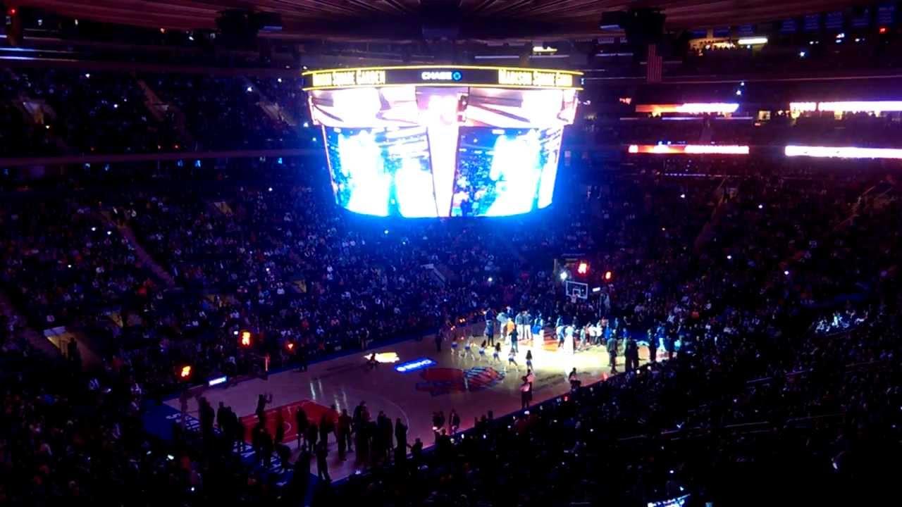 New York Knicks (NBA) Entry at Madison Square Garden Arena - New York ...