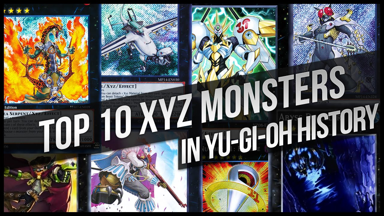 Yugioh Top 10 Best Monsters Of All Time!