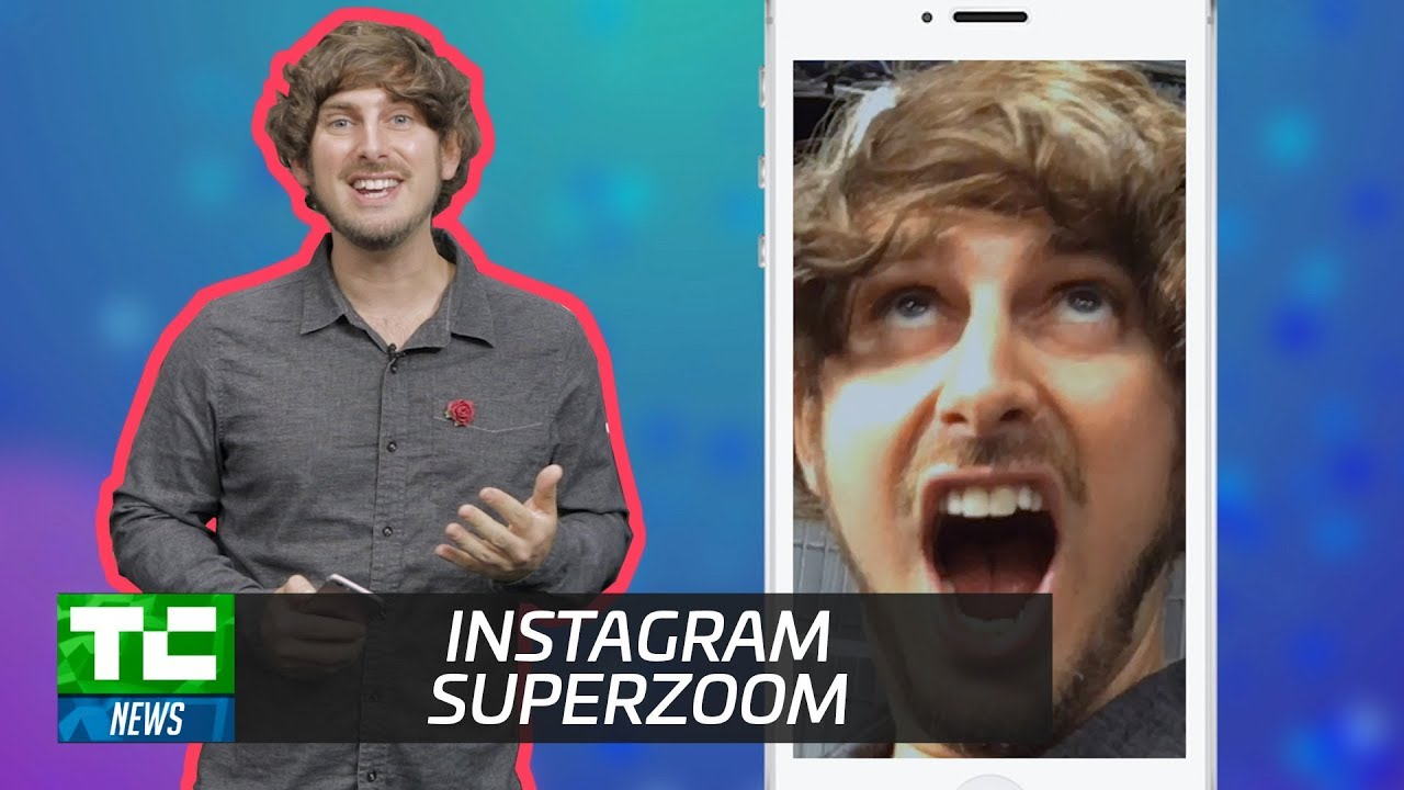 how to get superzoom on instagram