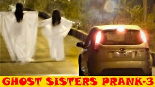 REAL GHOST SISTERS PRANK PART 3 (BEST FUNNY SCARY HILARIOUS) EXTREME REACTIONS