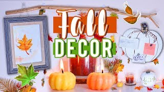 DIY Fall Decor for 2017!