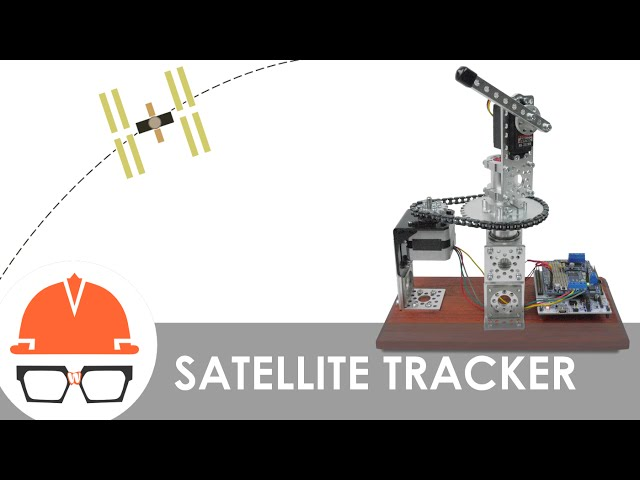 This Machine Tracks The Movements Of The ISS - Orbit tracker