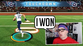 He's 59-0 when Odell Beckham Jr is playing & is a pro, so I called him out!