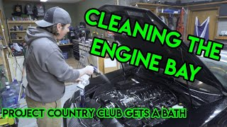 Engine Bay Cleaning Up, Getting Rid Of The Grime On Project Country Club's Northstar