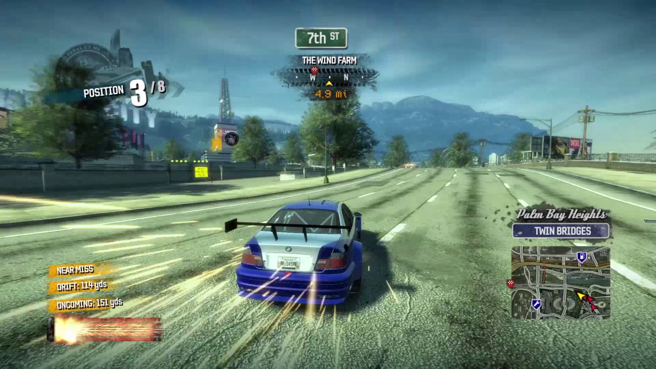 Burnout Paradise - Most Wanted M3 GTR Gameplay [+More Car Mods] [1080p60]