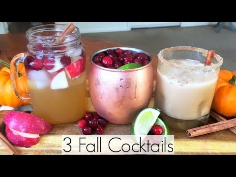 Ashley - 3 Delicious Cocktails to Make This Fall!