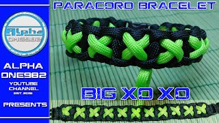 EPIC How to make Paracord Bracelet Xo Xo 2016 2017 by WoE