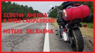 I went to Scootin' America Campground!