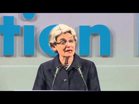 UNESCO Director-General Irina Bokova Speaks At The World Education Forum 2015, Incheon, Korea