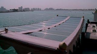 عبّارة مائية تعمل بالطاقة الشمسية في دبي - 4TECH